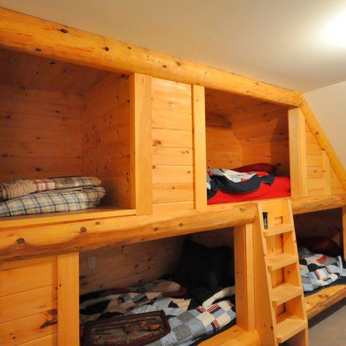 Muskoka-Cottage-bunk-beds